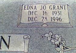 Edna Jo <i>Grant</i> Beason