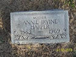 Annie <i>Irvine</i> Harper