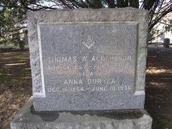 Anna <i>Duryea</i> Albertson