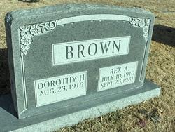 Rex A Brown