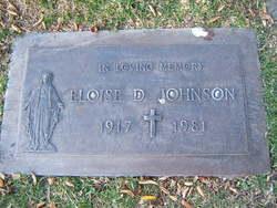 Eloise D Johnson