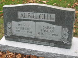 Sarah <i>Boshart</i> Albrecht