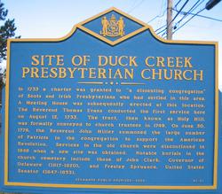 Duck Creek Presbyterian Churchyard