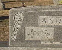 Bertha Dorthea <i>Schneider</i> Andres