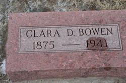 Clara D <i>Hunnington</i> Bowen