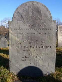 Elizabeth Bettey <i>Cumings</i> Parkhurst