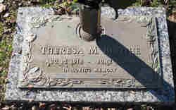 Theresa M Boothe