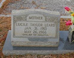 Lucille <i>Taylor</i> Leard