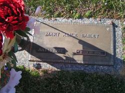 Mary Alice <i>Burch</i> Bailey