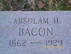 Absolam H. Bacon