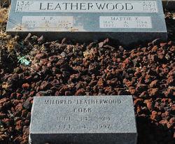 Mattie K Leatherwood