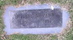 Willis A Vann