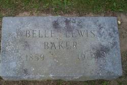 Belle <i>Lewis</i> Baker