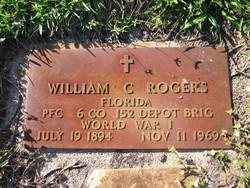 PFC William C Rogers