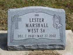 Lester Marshall West, Sr