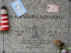 JoAnn <i>McDonald</i> Crandell