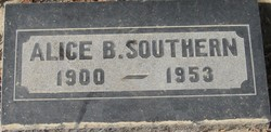 Alice Belle <i>Hickman</i> Southern