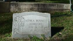 Althea <i>Bonnett</i> Albrecht