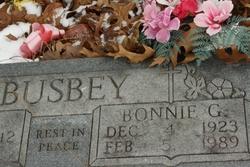 Bonnie G Busby