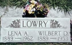 Lena A. <i>Braun</i> Lowry