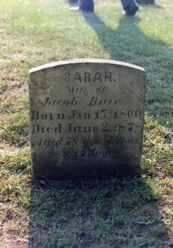 Sarah Bair
