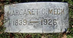 Margaret C Meck