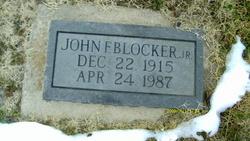 John F Blocker, Jr