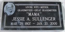 Jessie Agnes Mama <i>Azlin</i> Sullenger