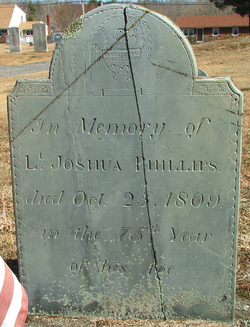 Lieut Joshua Phillips