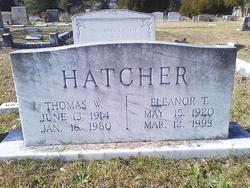 Thomas W Hatcher, Sr
