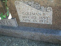Coleman Pate Davis