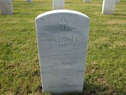 PFC William Leroy Fix