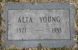 Alta <i>Cooksey</i> Young