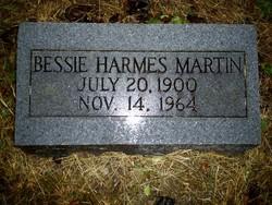 Bessie Lucille <i>Harmes</i> Martin