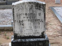 Sophronia U Bagwell