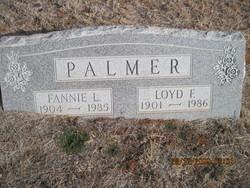 Fannie L <i>Pannell</i> Palmer