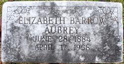 Elizabeth <i>Barrow</i> Aubrey