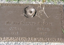 Mildred <i>Reynolds</i> McBryde