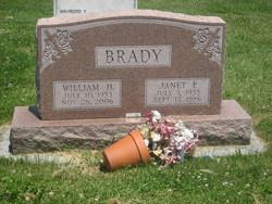 Janet P <i>Weaver</i> Brady