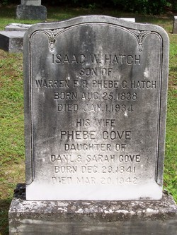 Isaac Webster Hatch