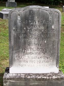 Phebe <i>Gove</i> Hatch