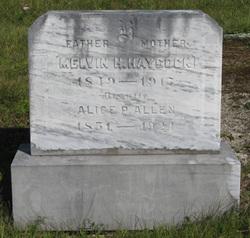 Alice P <i>Allen</i> Haycock