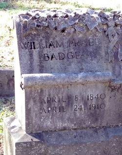 William Praed Badge
