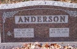 Mildred Margaret <i>Cox</i> Anderson