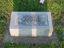Minnie E Capshaw
