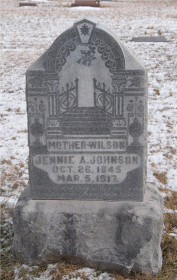 Jennie A <i>Mullins</i> Johnson