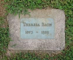 Theresa <i>Blum</i> Bach