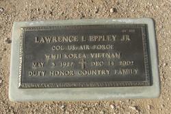 Col Laurence L. Eppley, Jr