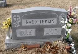 Laurel A. Backherms, Sr