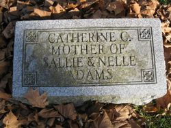 Catherine <i>Callahan</i> Adams